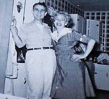 My Dad and Mom...1953 by trueblvr