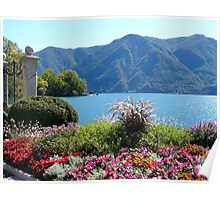 The Shores of Lake Lugano Poster