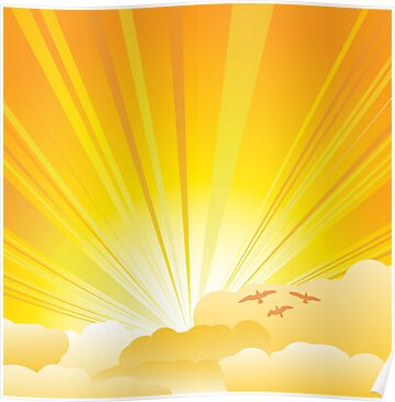 Sunny card by Richard Laschon