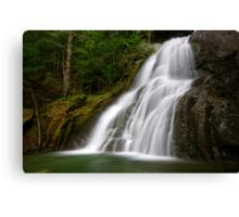 Moss Glen Falls - A Side View Canvas Print