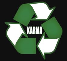 Recycle Karma by Laura Sanders