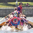 D.C. Dragon Boat Race Plate # (21) by Matsumoto