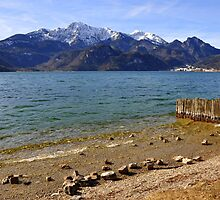 Lake Kochelsee III by Daidalos