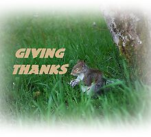 Giving Thanks by Jonice