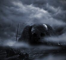 Attack on Skull Island by blacknight