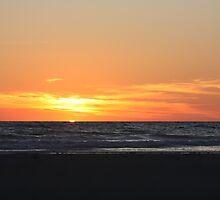 Cable Beach Sunset Broome by Binita