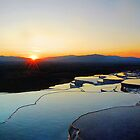 Pamukkale Sunset by taiche
