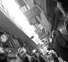 Melbourne Cafe Alley by Lorne6575