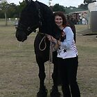 Friesian stallion - Wizzard by louisegreen