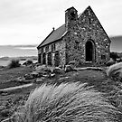 Church of the Good Shepherd (bw) by fotoWerner