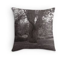 Tree Couple Dancing Throw Pillow