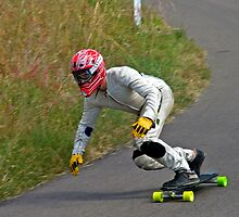Downhill Racer #1 by Paul Gilbert