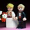 Lego Bride and Groom by Kevin  Poulton - aka &#x27;Sad Old Biker&#x27;