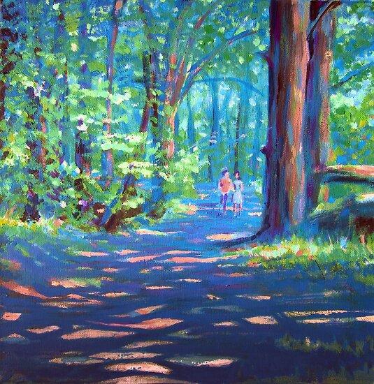 woodland wander by Matthew Scotland