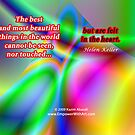 The Best and Most Beautiful Things in the World  by Kazim Abasali