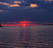 island sunrise by Cheryl Dunning