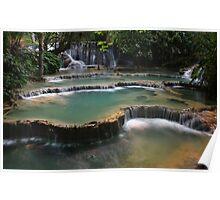Waterfall Cascades Poster