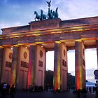 Brandenburg Gates at Night by Simon Cross