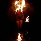 fire by Klaudy Krbata