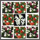 Hyacinths and Primroses Spring Collage by BlueMoonRose