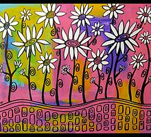 Field of Dreamy Daisies by GroovyGal