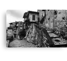 The Back Streets Of Artena Canvas Print