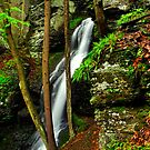 UPPER SILVER THREAD FALLS by MIKESANDY