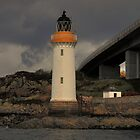 The world's tiniest lighthouse by Drodbar