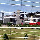 Reflections of Heinz Field by Monnie Ryan