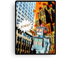 robotic Canvas Print