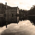 Old mill & pond by AttiPhotography
