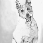 Class Clown- Parson Jack Russell Terrier! by Linda Costello Hinchey
