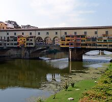 Ponte Vecchio, Firenze (Florence) Italy by Lucinda Walter