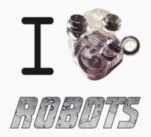 I Heart (love)Robots. by watertigerleo
