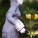 Watering Girl by Tracy Riddell