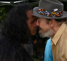 Powhiri for Dr John  by theherneschase