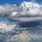 Clouds over my House by Susan Blevins