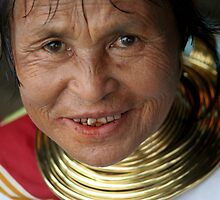 Kayan Woman III by Colinizing  Photography with Colin Boyd Shafer