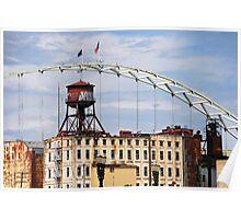 The Fremont Bridge Poster