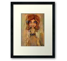 Miss Honey Framed Print