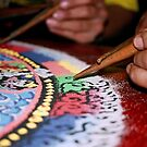 grain. sand mandala, india by tim buckley | bodhiimages photography