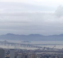 San Francisco from the East Bay by fototaker