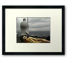 Golden Buddha and Muroto Cape Framed Print
