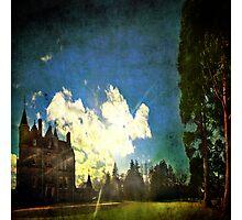 Blarney House, Ireland - Into the Sun Photographic Print