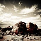 Devils Marbles by Bart The Photographer