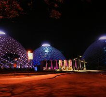 Domes light up by CharmPhotos