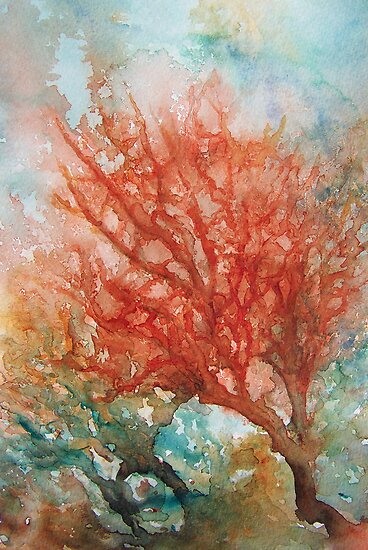 Trees Under the Seas by Patricia Henderson