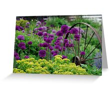 Glorious colours of Spring Greeting Card