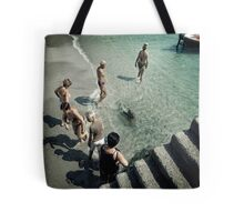 Follow the leader... Tote Bag