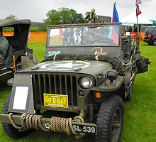 Willys Jeep  by mike  jordan.